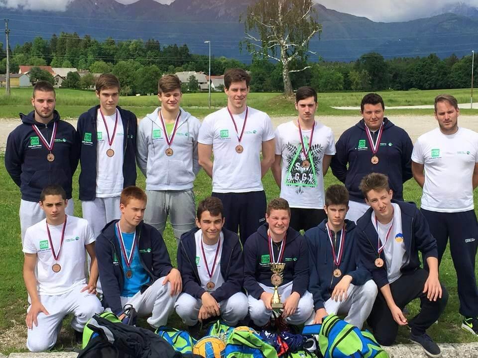 Zakljucek državnega prvenstva U19 v Vaterpolu
