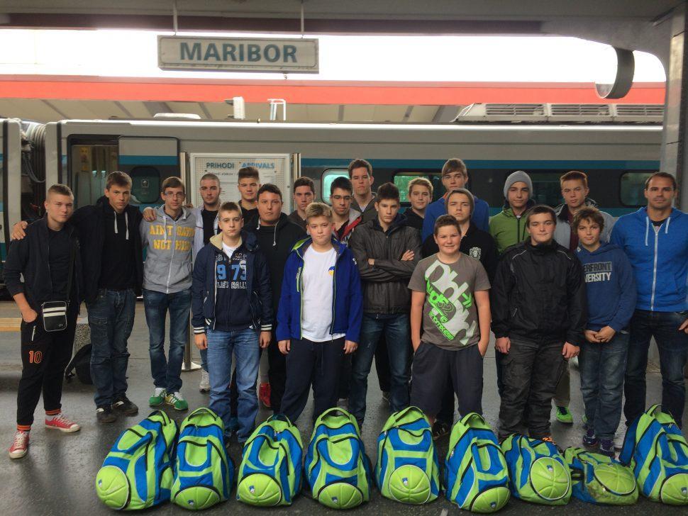 Priprave, vaterpolo, Maribor